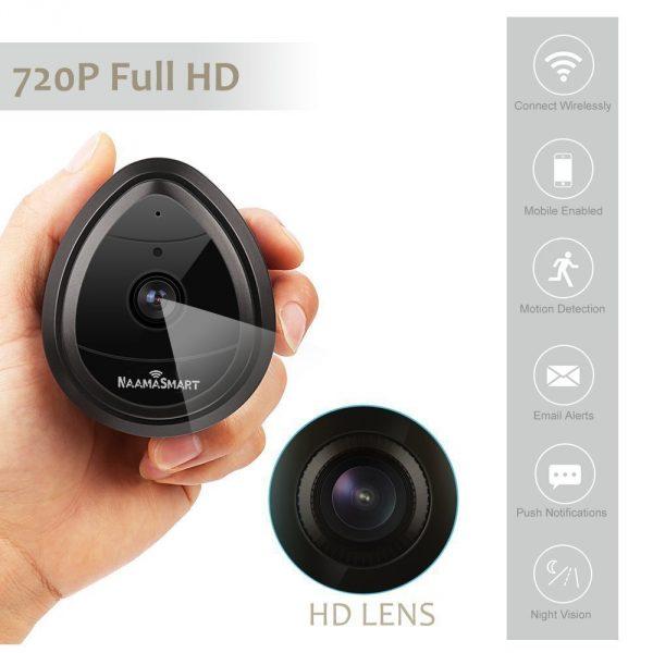 hd night vision 720p camera