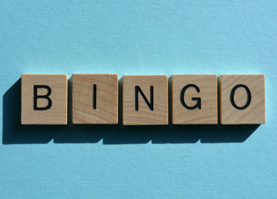 Bingo, word used to express satisfaction at a sudden positive outcome.